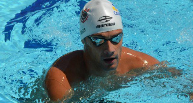 Leo de Deus é ouro no campeonato Brasileiro de Natação
