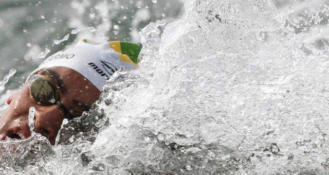 Allan do Carmo no Mundial de Águas Abertas