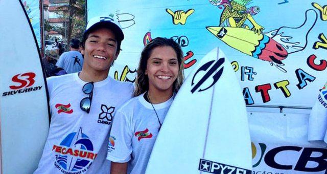 Tainá Hinckel é campeã brasileira de surf