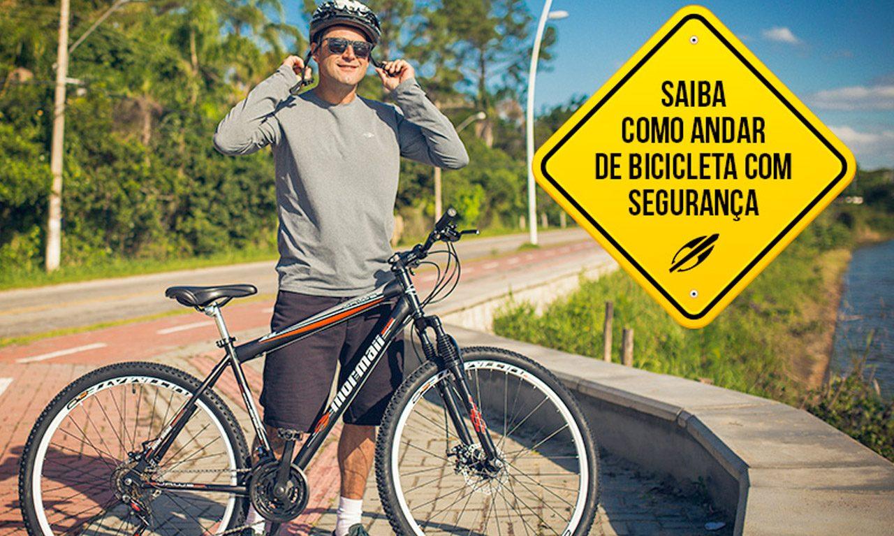 cb7537dfd Saiba como andar de bicicleta com segurança - Mormaii