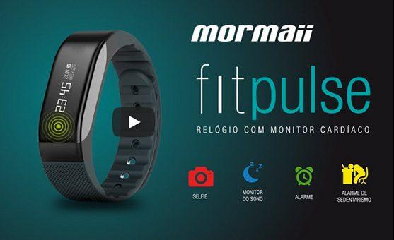 Fitpulse, o relógio que acompanha sua evolução