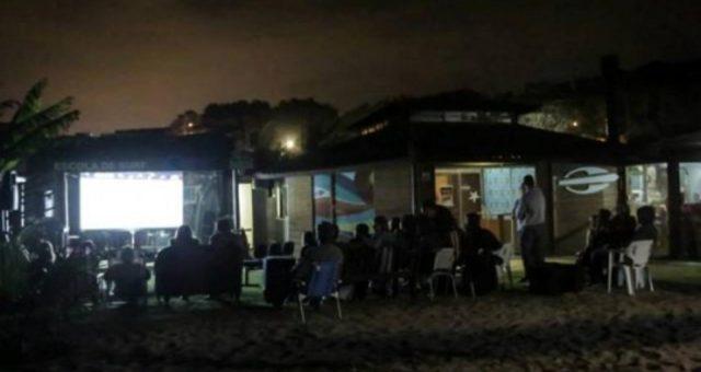 CDC Aragua apresenta: Cinema na praia, cultura à beira mar