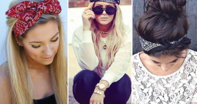 Blog Moda | Bandana : O retorno de um ícone