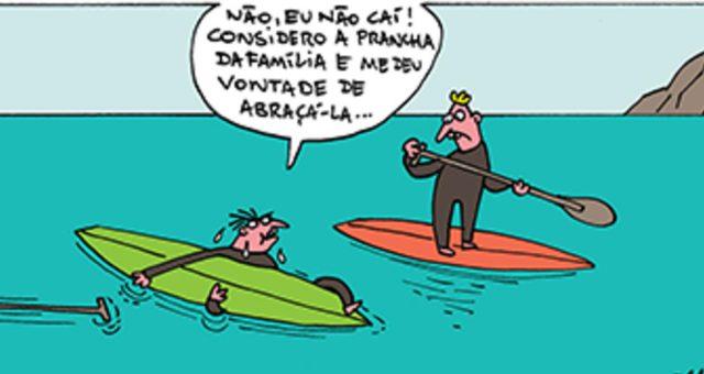 Surf tira | Perguntas idiotas, tolerância zero!