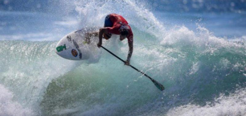 Caio Vaz e Leco Salazar avançam no mundial de Sup Wave