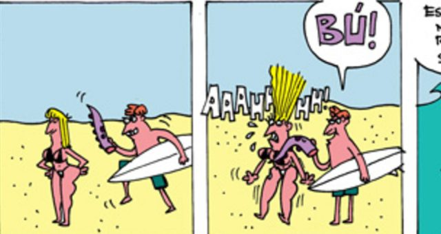 Surf tira | Brincadeira tem hora!