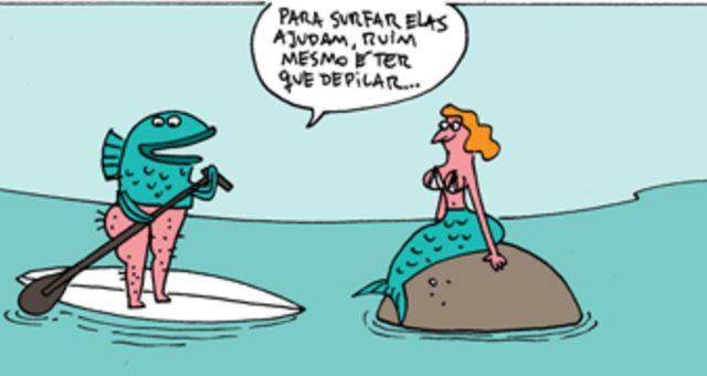 Surf tira | Surf mitológico