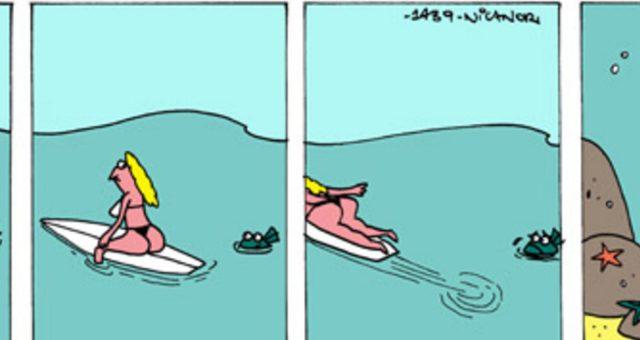 Surf tira | Dificuldade de Relacionamento