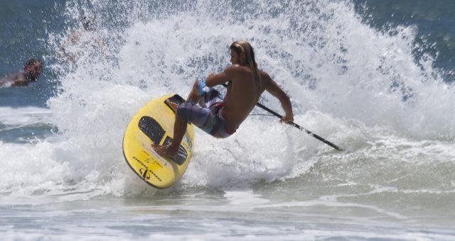 Caio Vaz em busca de mais um título brasileiro de SUP
