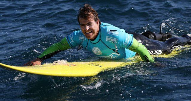 Carlos Burle na Loja Cabana Surf