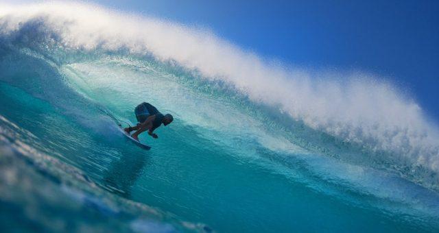 Ian Gouveia faz a cabeça no Hawaii
