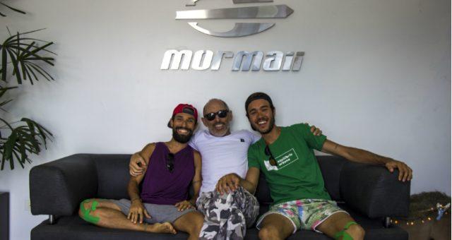 Bikes pra mudar o mundo - Projeto WoW visita a Mormaii