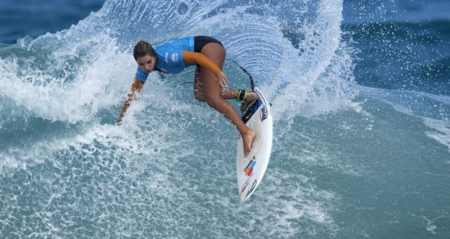 Taina Hinckel é 3ª colocada no Mundial Pro Jr