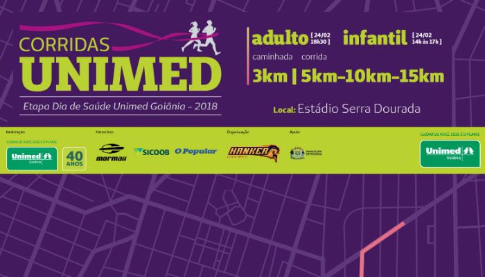 Circuito Unimed 2018 : Participe do circuito de corridas unimed goi nia com