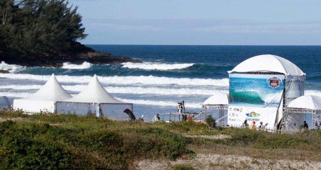 Vai começar o Garopabense de Surf 2018