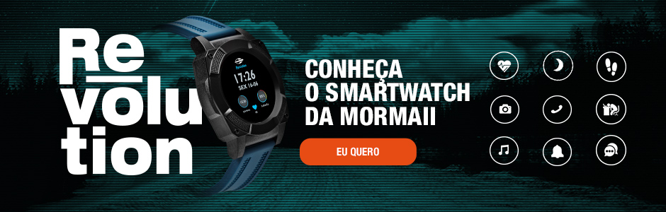 smartwatch mormaii revolution