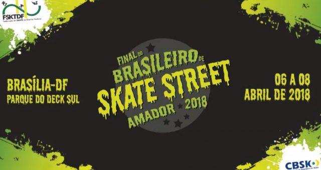 Brasileiro de Skate Street Amador em Brasília