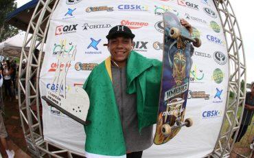ea0e69bf70f6b Xuxu é campeão Brasileiro de Street Skate Amador