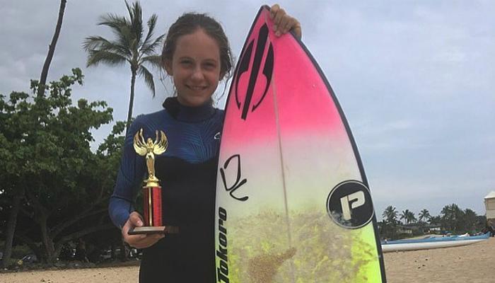 Belinha fica em terceiro em sua estreia competindo no Hawaii dbdc0f7f74