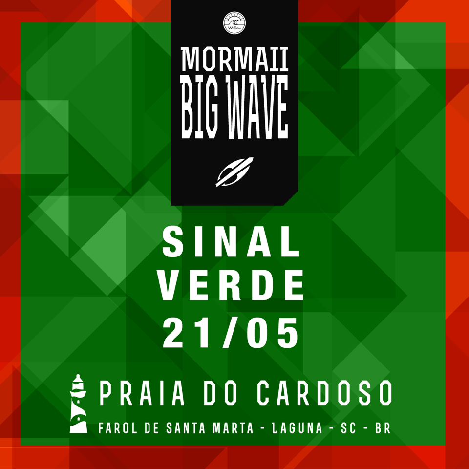 Mormaii Big Wave na Praia do Cardoso ao vivo 2311fd789dc77