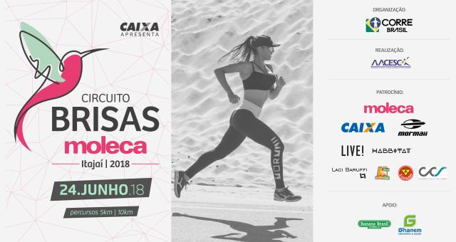 Circuito Brisas acontece na Praia Brava de Itajaí (SC)