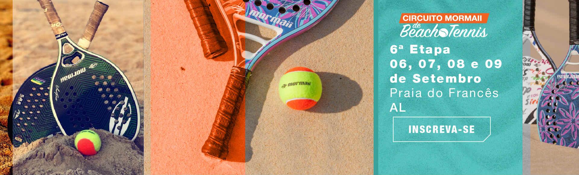 Prepare-se para o Circuito Mormaii Beach Tennis, em Alagoas 2e8b0a7d26