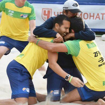 Brasil é Bicampeão Mundial de Beach Tennis
