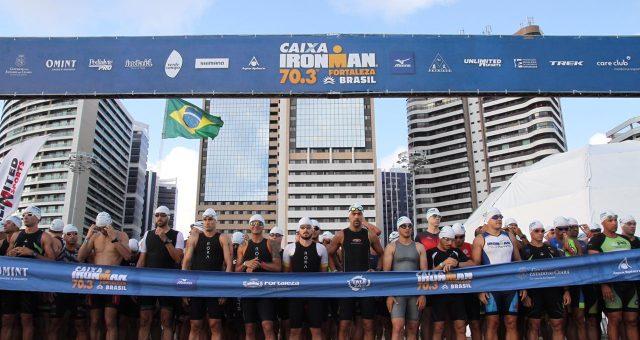 Ironman 70.3 em Fortaleza foi desafiador