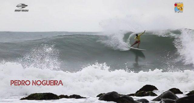 Altas ondas no 18º Mormaii Brasiliense de Surf