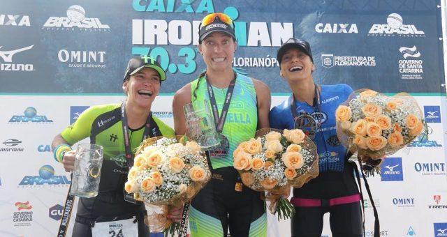 O Ironman 70.3 Florianópolis teve dobradinha brasileira