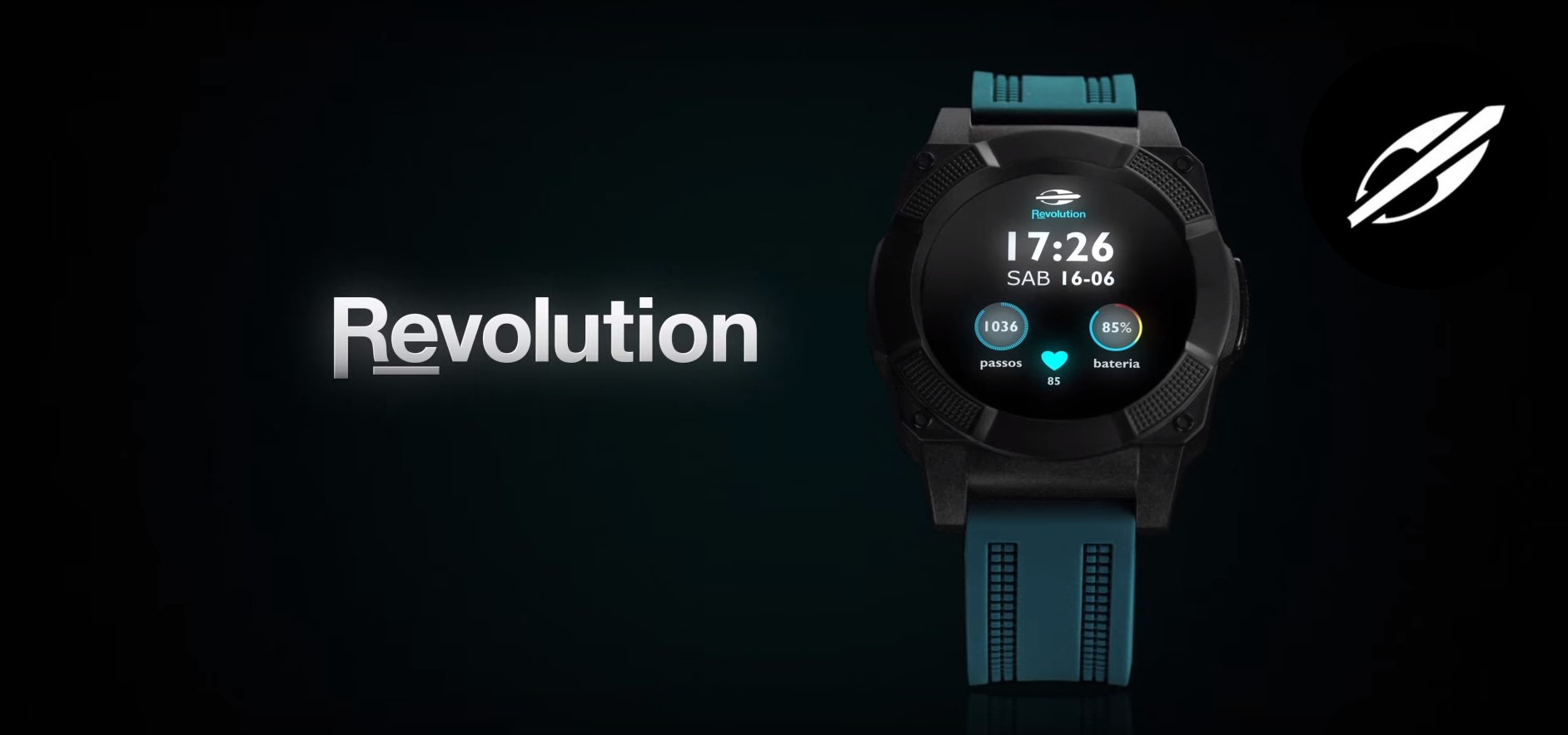 f34739186cb Smartwatch Mormaii Revolution