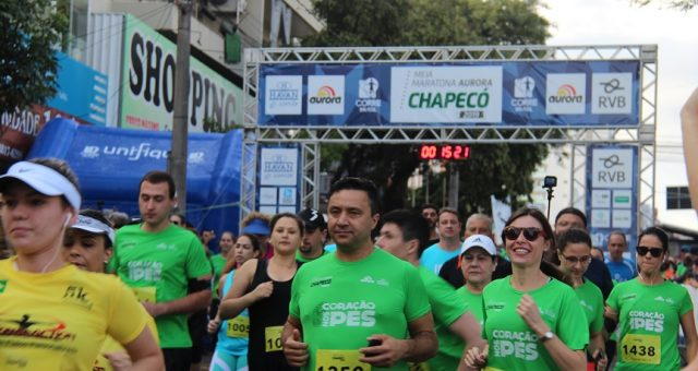 Meia Maratona Aurora de Chapecó movimentou oeste catarinense