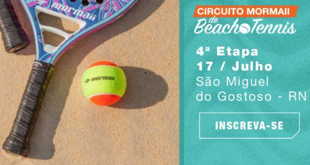 Mormaii Beach Tennis em São Miguel do Gostoso