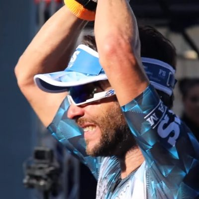 Frank Silvestrin é 3º no Ironman Brasil 2019