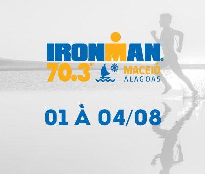 O IRON MAN 70.3 - Maceió vai ter muita adrenalina e superação