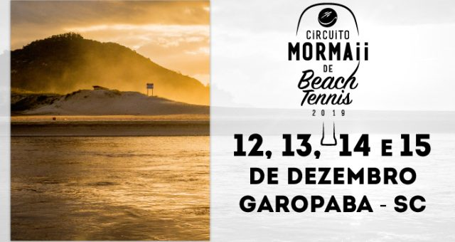 Mormaii Garopaba Open de Beach Tennis 2019