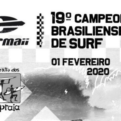 XX Mormaii Brasiliense de Surf acontece na Silveira (SC)