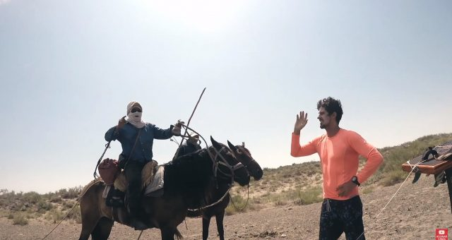 As Aventuras de Diogo Guerreiro de kitesurf no Cazaquistão