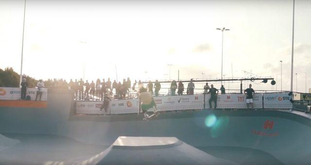 Skate com Marcos Gabriel no STU Park em Floripa