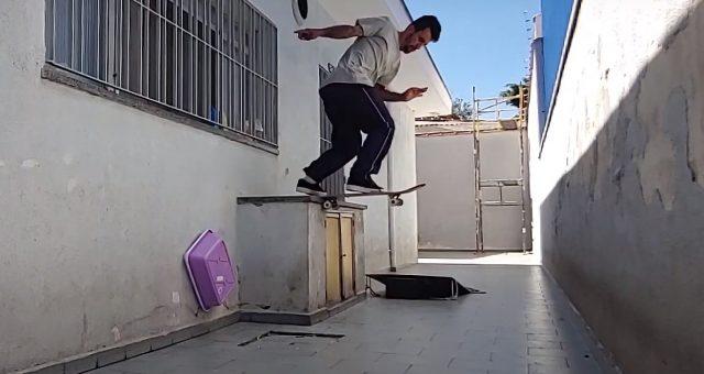 Skate em casa com Rodrigo Maizena