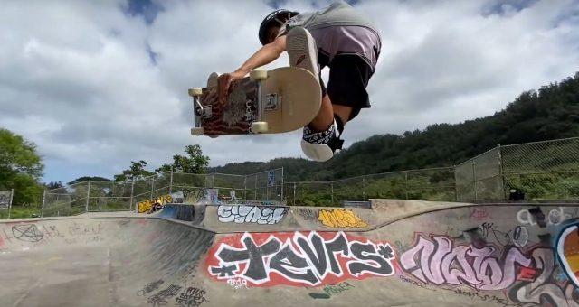 Tuco Arruda com muito surf e skate no Hawaii // Parte II